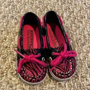 Sperry size 4 infant/toddler